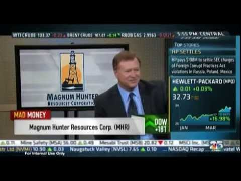Magnum Hunter Resources CEO Gary Evans interviewed on CNBC's