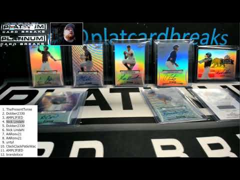 2017 Leaf Metal Draft Baseball 2 Box Hit Draft #1