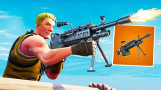 NEW LEGENDARY LMG in FORTNITE!