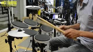 Demo sound tiếng bộ trống Roland TD-4KP