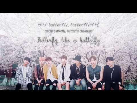 BTS (방탄소년단) - Butterfly (short ver.) [Han|Rom|Eng lyrics]