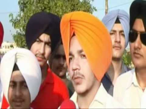 New Punjabi Song 2011 2012 & New Turban Tying Video Manjeet Singh Ferozpuria 94635-95040 video