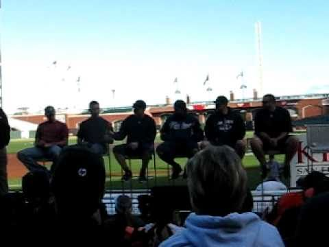 Giants Fellowship Day pt 7 (2010) - Nick Hundley