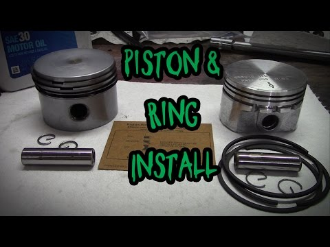 How to Install a Piston and Rings