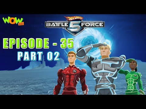 Motu Patlu presents Hot Wheels Battle Force 5 - Deep Freeze - S2 E35.P2 - in Hindi thumbnail