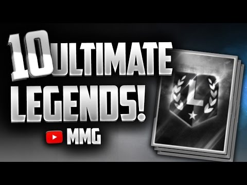 10 RANDOM ULTIMATE LEGENDS! 4 99 OVERALLS! Madden Mobile