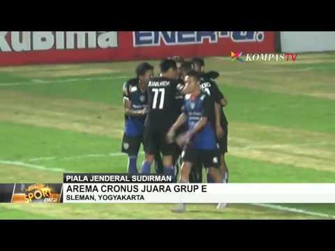 Arema Cronus Raih Juara Grup E