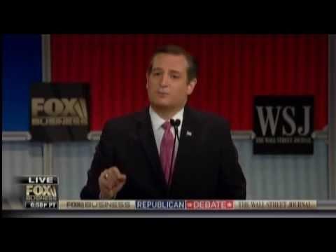 Ted Cruz In GOP Debate Loses Track Of Agencies He Would Cut