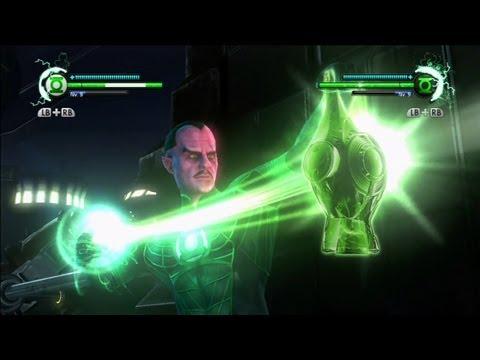 Jogando com minha Noiva - Green Lantern: Rise of the Manhunters