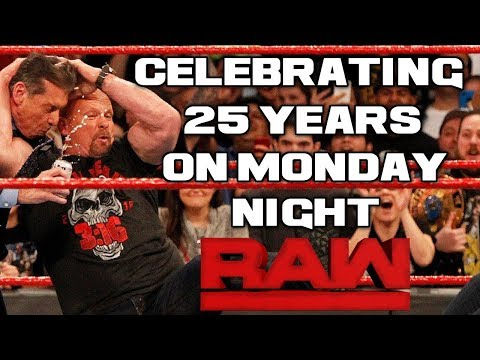 WWE Raw 25 1/23/18 Full Show Review & Results: CELEBRATING 25 YEARS OF RAW