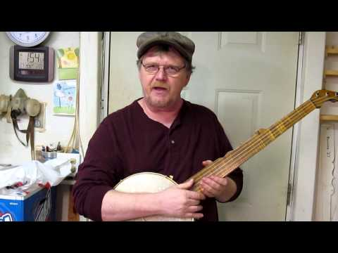 Minstrel Banjo Civil War Era Musical Instrument Song