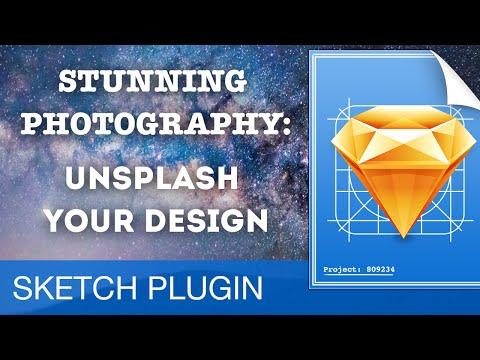 STUNNING PHOTOGRAPHY: Unsplash Sketch Plugin • Sketch 3 Plugins Tutorial & Design Workflow