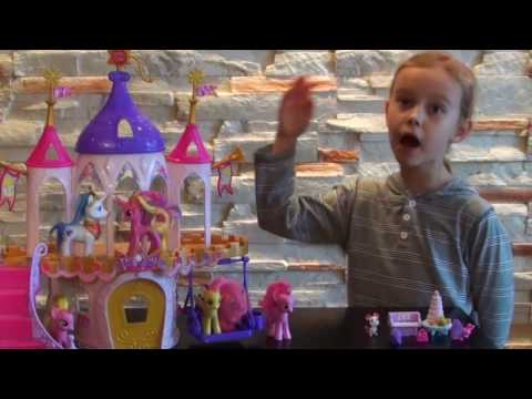 My Little Pony Princess Royal Wedding Castle Review- Zamek Księżniczki Cadance . Prezentacja.
