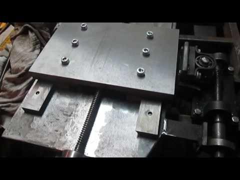 только начинаю направляющие токарного по металлу самодел сослуживец