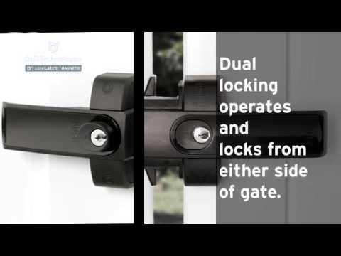 LokkLatch Magnetic - It's a lock. It's a latch. It's all you need.