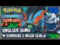 Pokémon Omega Ruby & Alpha Sapphire - ENGLISH Demo w/Starters & Mega Glalie