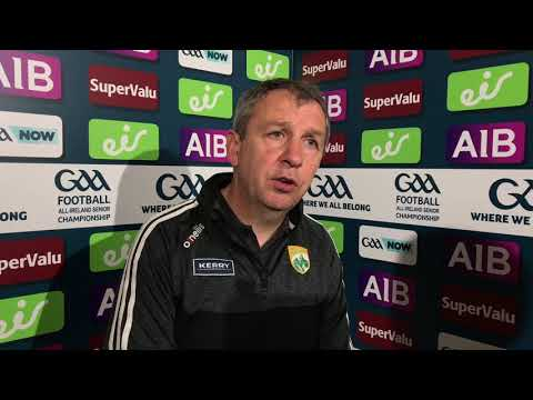 Peter Keane reacts to Kerry's defeat to Dublin in the All-Ireland SFC Final