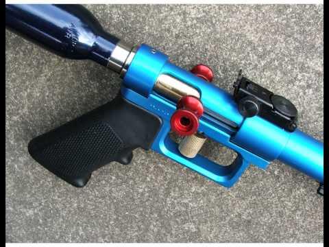 "Custom Made One Of A Kind ""BIG BLUE"" Air Pistol."