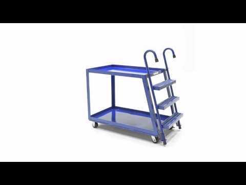 Stock picker Trucks Heavy Duty Steel Construction SPS2-2848 360 VIDEO
