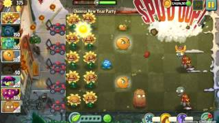 Chinese New Year Party - Texture Mod - Plants vs. Zombies 2: It