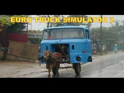 Euro Truck Simulator 2 #2: @fgfoto guida di notte! GAMEPLAY COMMENTARY