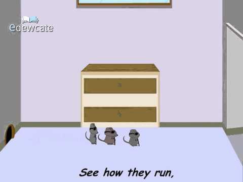 Edewcate english rhymes – Three blind mice