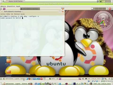 Fallo paquetes rotos solución Linux Ubuntu 10.04 - 12.10 etc