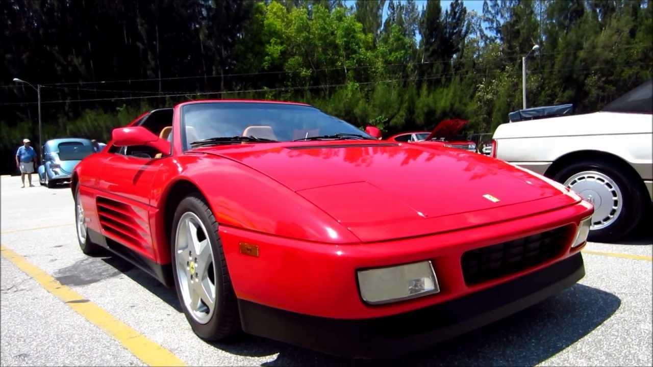 1990 Ferrari 348 Ts 3 4liter V8 325 Horsepower