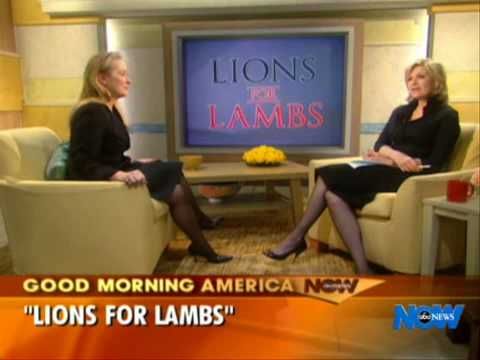 Meryl Streep  - 'Good Morning America' Interview - 2007