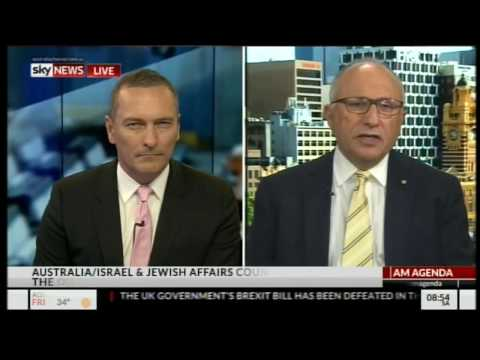Colin Rubenstein on 18C on SkyNews