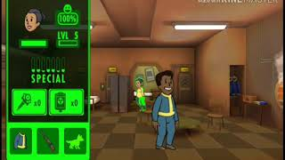 Fallout shelter(ep1) legendary baby!