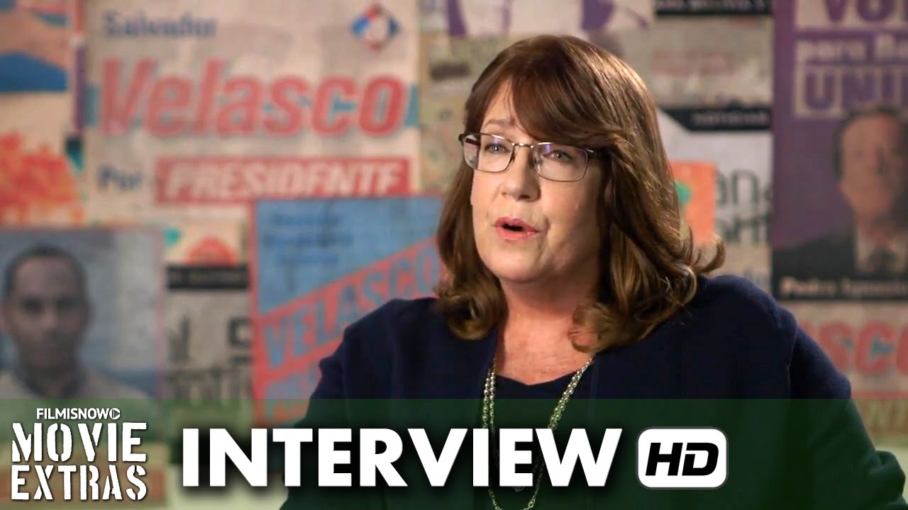 Our Brand Is Crisis (2015) Behind the Scenes Movie Interview - Ann Down is 'Nell'