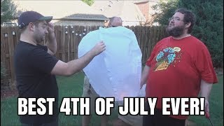 My BEST 4th of July EVER!  Fireworks, Food, Friends!