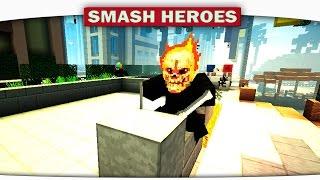ч.03 Человек паук и Маньяк!!! - Minecraft Smash Heroes