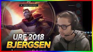 702. Bjergsen URF 2018 - Rakan vs Veigar - Mid - Season 8 Patch 8.13
