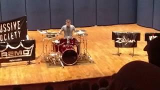 Matt Greiner performing Ghosts 2016