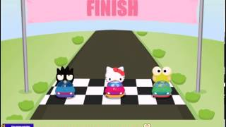 Hello Kitty Car Race Game - Baby Games