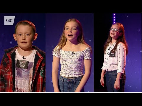 Dewi, Anna Fflur a Sara Haf | Chwilio am Seren | Junior Eurovision 2019 | Cymru | Wales