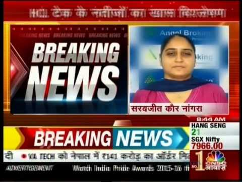 CNBC Awaaz Market Countdown, 28 April 2016 - Ms. Sarabjit Kour, Angel Broking