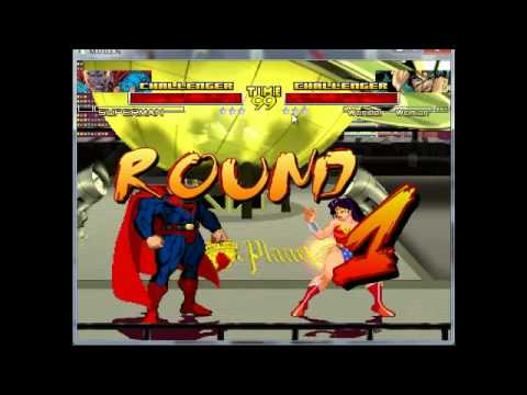 Screenpack for mugen Dc vs Marvel/dreamwar.mp4