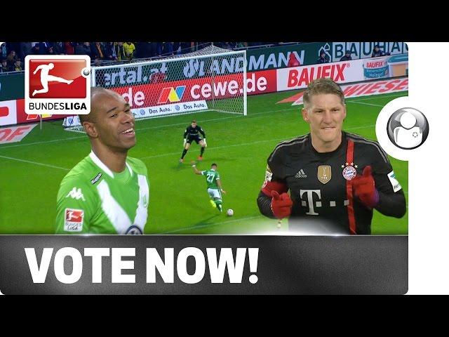 Schweinsteiger, Naldo or Selke - Vote for your Player of the Week!