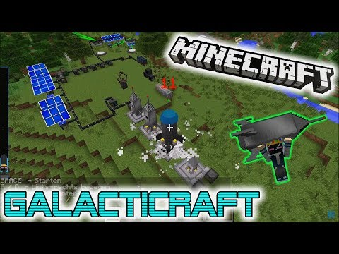 Galacticraft 🚀🌟🛰    Mod & Tutorial 1.7.10 - Deutsch
