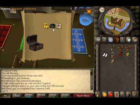 Runescape 2007 Clue Scroll Rewards!
