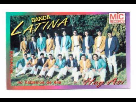 cancion de ''banda latina'' ''no hablemos de ella''