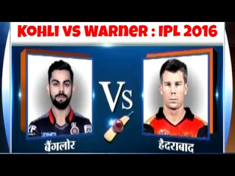 RCB vs Sunrisers Hyderabad, IPL 2016: Flop as Captain Virat Kohli to Face David Warner
