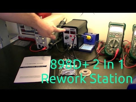 898d+ 2 in 1 rework station review
