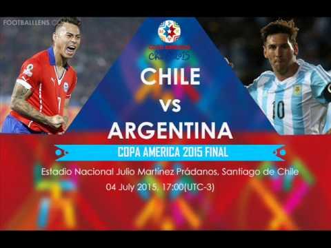 Chile 0 (4) - Argentina 0 (1) - Final Copa America Chile 2015 - ADN Radio Chile 91.7