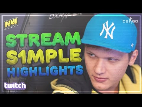 CS:GO - s1mple | Stream Highlights #7