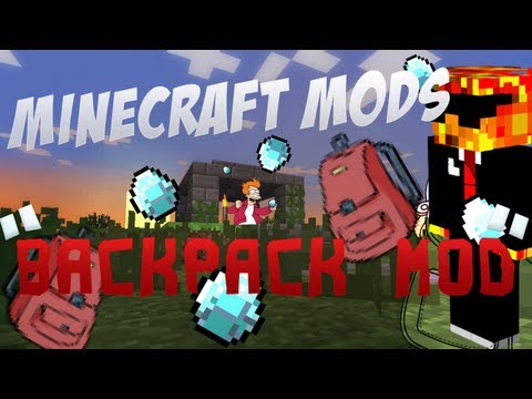 MINECRAFT MODS! #05 - Backpack MOD xD
