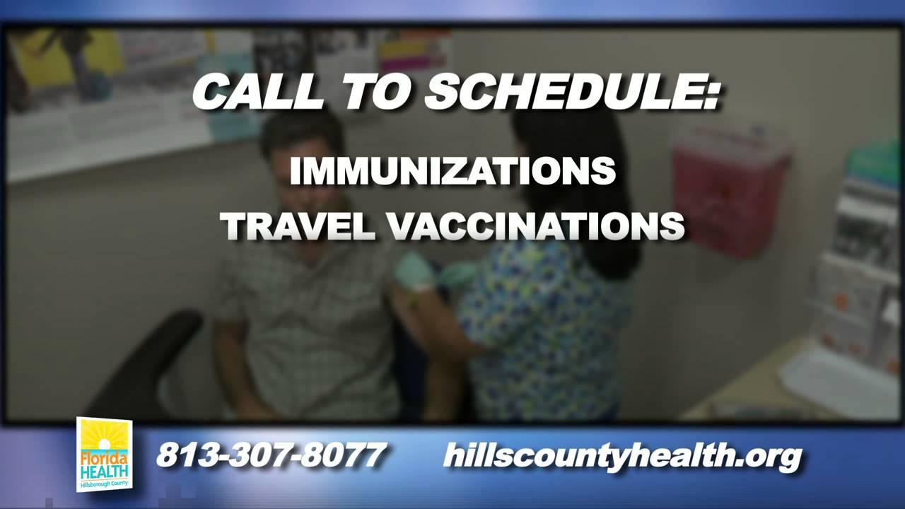 New immunization clinic florida health department youtube